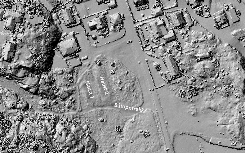 Laserscanning av terrenget på Lahammer